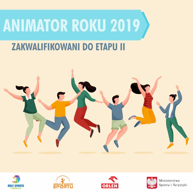 Wyniki I etapu Konkursu na Animatora Roku 2019!