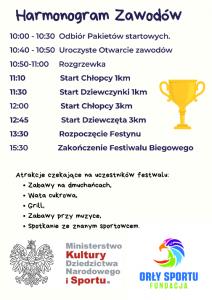 Harmonogram – Festiwal Biegowy Wrocław